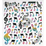 Aim AIM29518 Stickers Music Notes - Staff