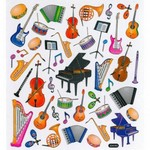Aim AIM29521 Stickers Music Instruments