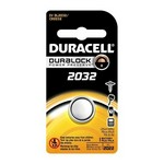DL2032B Duracell 3.0V Lithium Battery