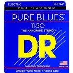 DR PHR-11 Pure Blues Nickel Heavy Electric Guitar Strings