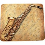 Aim AIM40031 Mouse Pad Sax Sheet Music