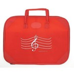 Aim AIM9613 Red G-Clef Briefcase