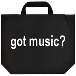 Aim AIM2370 Got Music? Tote Bag