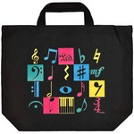 Aim AIM2357 Music Motif Tote Bag XL