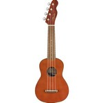 Fender 0971610722 Venice Soprano Uke, Walnut Fingerboard, Natural