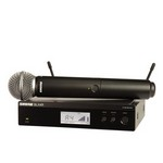 Shure BLX24R/SM58 BLX24R SM58 Vocal Wireless System