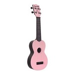 Kala Waterman Soprano Uke - Watermelon Fluorescent