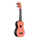 Kala Waterman Soprano Uke - Tomato Red Matte