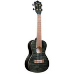 Amahi PGUK555BKC Black Flamed Maple Concert