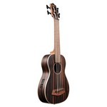 Kala Striped Ebony with Round Wounds Acoustic/Electric U-BASS
