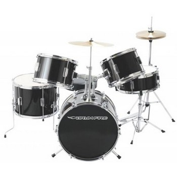Junior Drum Set Rental with Hardware and Cymbals for $29.99 per month