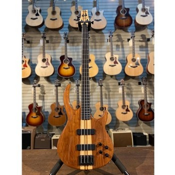 Used Carvin BB70 Bunny Brunel Signature Electric Bass Guitar Natural